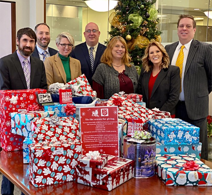 Firm gives Christmas to Needy Family